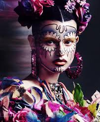 day of the dead makeup for halloween 3 days to go my countdown to halloween professor ohlsson