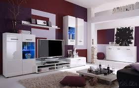 Wohnzimmerschrank Schwarz Exquisit Hochglanz Wohnzimmer Wohnwand Mit Sideboard Weiss Sonoma