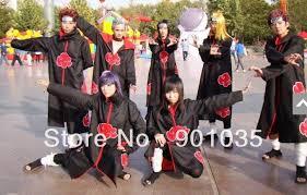 Halloween Costumes Naruto Cheap Naruto Akatsuki Costumes Aliexpress