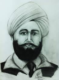 udham singh by gaffydhillon drawing picture khalsa force