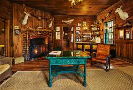 log cabin themed home decor artistic color decor fresh under log