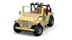jeep lego military m151 mutt needs your support to be immortalized in lego