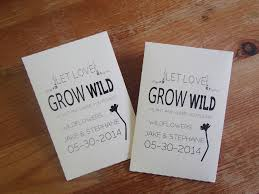 seed packet wedding favors 20 custom seed packet wedding adorable wedding favors seed packets