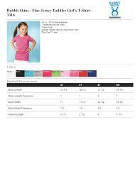 rabbit skins fine jersey toddler u0027s t shirt 3316 3 76
