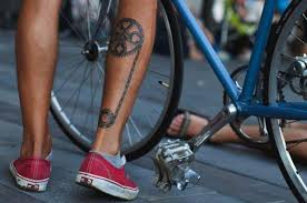 wheel mad cycling tattoos for the weekend