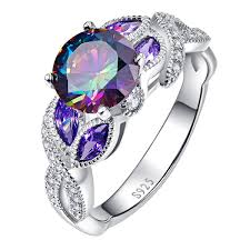 silver topaz rings images Welcome to bonlavie 925 sterling silver jewelry silver rings women jpg