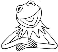 kermit the frog coloring pages with regard to motivate to color an