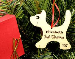 personalized christmas ornament wooden penguin ornament for