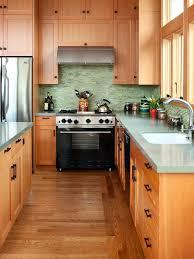 kitchen backsplash with light brown cabinets 77 green backsplash ideas inspired by nature green