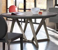contemporary dining table oak walnut solid wood setis
