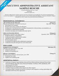 Administrative Assistant Example Resume by Executive Administrative Assistant Resume Administrative