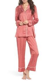 womens satin pajama nordstrom