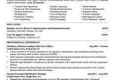 Military Resume Examples by Veteran Resume Examples Template Examples