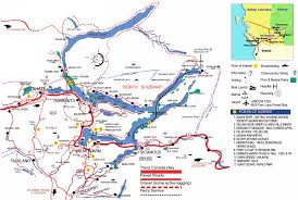 Trans Canada Highway Map by Tina Cosman Salmon Arm Real Estate Shuswap Communities