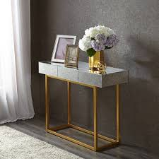 Gold Console Table Madison Park Glam Willa Mirror Gold Console Table Free Shipping