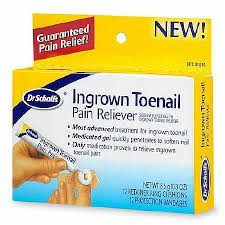 dr scholl u0027s ingrown toenail pain reliever walgreens