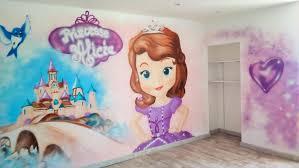 fresque chambre fille fresque château d eau peintures murales coron thibaud coron thibaud