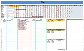 Excel Monthly Calendar Template Excel Calendar Templates Vnzgames