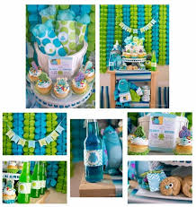 Cookie Monster Baby Shower Decorations Cookie Monster Baby Shower Cakes Baby Shower Ideas