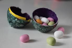 papier mache easter eggs how to make papier mache easter eggs misplacedbritmisplacedbrit