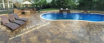 Slate Pavers For Patio by Stone Creations Of Long Island Pavers And Masonry Corp Deer Park