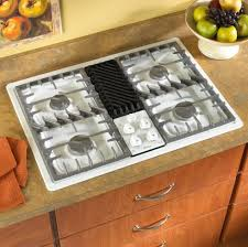 amana acc3660aw 30 inch gas downdraft cooktop w 4 sealed gas