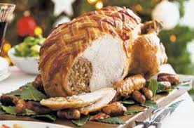 roast turkey with olde chestnut recipe goodtoknow