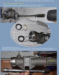 993 steering rack diy rebuild tutorial rennlist porsche