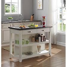 kitchen island granite top bell o ki10275 48 t401 farmhouse kitchen island with