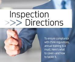 inspection directions by leslie canham cda rda dentaltown