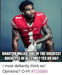 Braxton Miller Meme - braxton miller one the greatest buckeyes dfall time yes or no i
