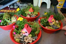 Outdoor Fairy Garden Ideas by Pink And Green Mama End Of The Year Teacher Gift Fairy Garden