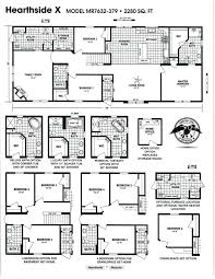 4 Bedroom Double Wide Modular Home Pictures And Prices Brand New Double Wide Trailers