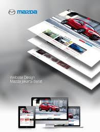 mazda website website design mazda jakarta bytco