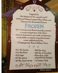 foodie friday gingerbread displays walt disney