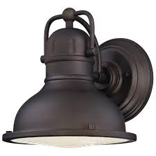 led barn light home depot westinghouse orson 1 light oil rubbed bronze outdoor integrated led