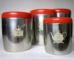 Vintage Kitchen Canisters Reserved For Mel Vintage Aluminum Canister Set West Bend