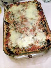 chicken vegetable lasagna putting it all on the table