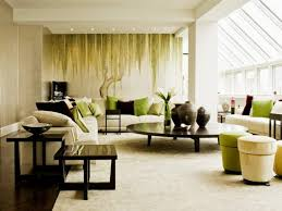living room living olive green walls room wall brown andcorating