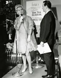 zsa zsa gabor once opened hess u0027s flower show the morning call