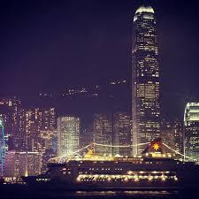 hong kong light show cruise one of our favourite skylines hongkong tst hongkongisland