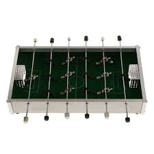 electronic table football game mini table football game soccer children toy metal foosball children