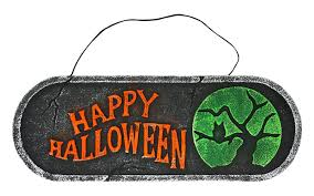 halloween signs u0026 banners u0026 wall art one holiday lane