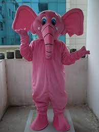 Pink Elephant Halloween Costumes Pink Elephant Mascot Costume Promotion Shop Promotional Pink