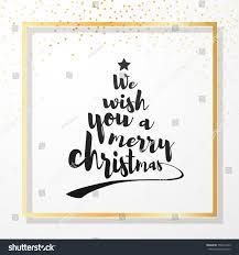 we wish you merry quote stock vector 758274139