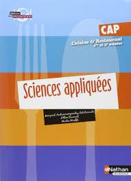 livre cap cuisine amazon fr sciences appliquées cap cuisine et restaurant