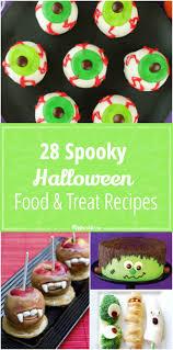 Spooky Treats Recipes Halloween 28 Spooky Halloween Food U0026 Treats Recipes Tip Junkie