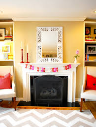 decorations wall mounted indoor fireplaces your daily terrific fireplace mantel decor for valentines day with pink heart