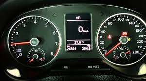 oil pressure warning light oil pressure engine off warning on polo gti 6r youtube