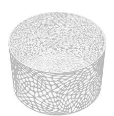 outdoor metal end tables modern round metal coffee table brilliant white contemporary outdoor